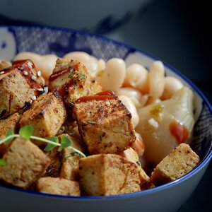 Twice-Cooked Crispy Fried Tofu