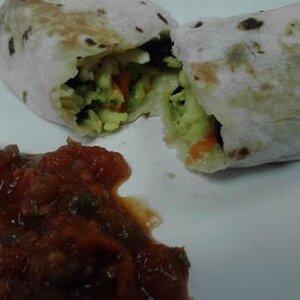 Make-Ahead Veggie Breakfast Burritos