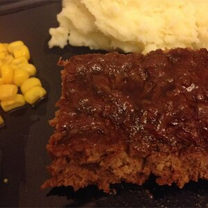 Jill's Sweet and Tangy Meatloaf