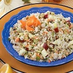 Walnut Rice Salad