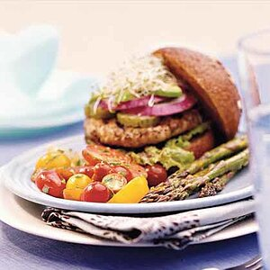 Tasty Turkey Burgers Recipe Myrecipes