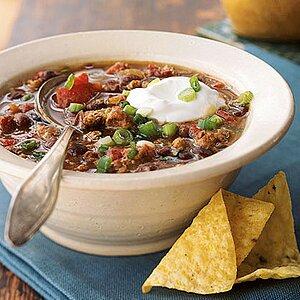 Mexican Black Bean Chili Recipe Myrecipes