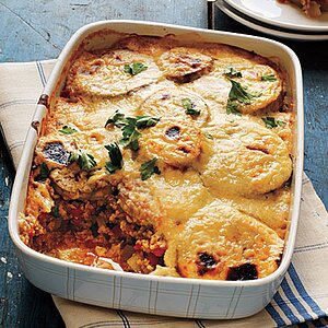 Cheesy Vegetable Moussaka Recipe Myrecipes