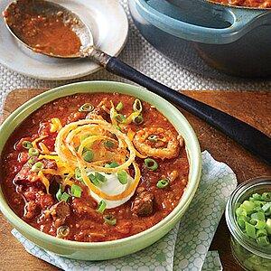 Chunky Beef Chili Recipe Myrecipes