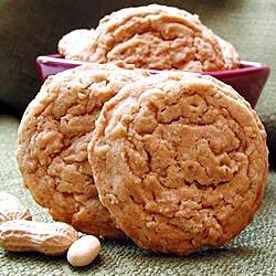 Galletas de avena instantánea y cacahuate