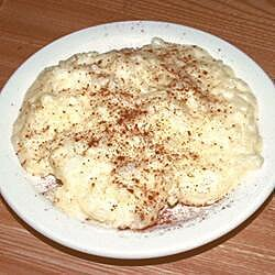 Pudín de arroz estilo portugués