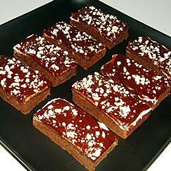 Brownies de chocolate con menta