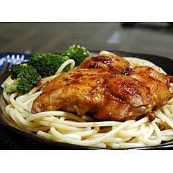 Pollo en salsa de vino tinto