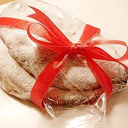 Pastel navideño alemán (stollen)