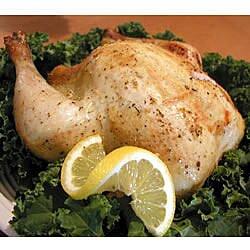Pollo al horno fácil con limón
