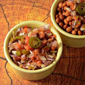 Salsa de jalapeños en vinagre