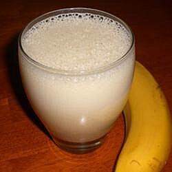 Licuado saludable de plátano