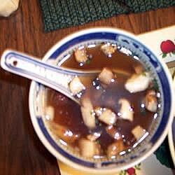 Sopa japonesa de champiñones