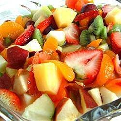 Ensalada de diez frutas