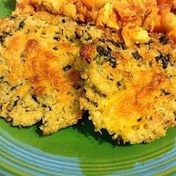 Tortitas de quinoa con queso