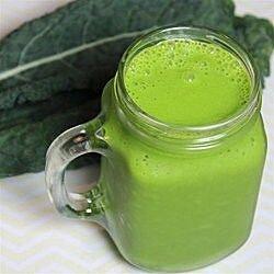 Smoothie de espinacas y kale