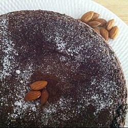 Torta caprese (pastel de chocolate italiano)