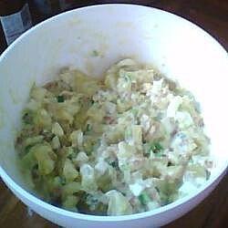 Ensalada de papa sin mayonesa
