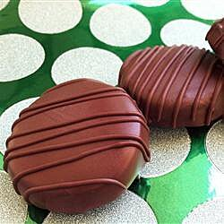 Galletas de chocolate con menta