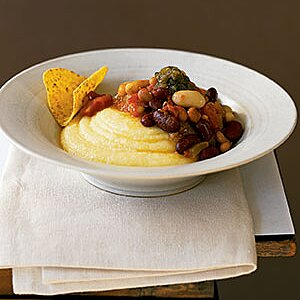 Slow Cooker Vegetarian Chili With Sweet Potatoes Recipe Real Simple