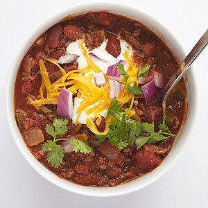 Southwestern Beef Chili With Corn Recipe Real Simple