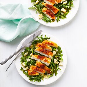 Crispy Chicken and Blue Cheese Salad