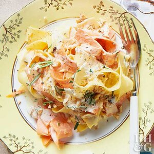 Rosemary & Carrot Ribbon Pappardelle