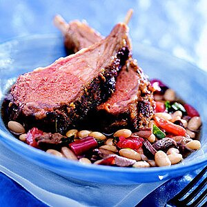 Porcini-Herb Crusted Lamb