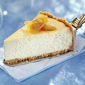 Showstopper Eggnog Cheesecake