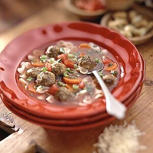 Picky Eaters Meatball Soup