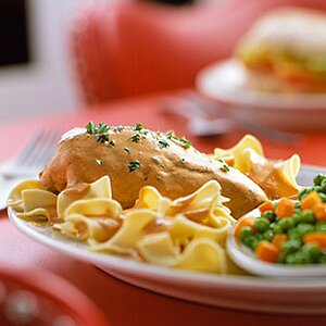 Country-Style Chicken Paprikash