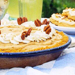 Pumpkin-Gingersnap Pie