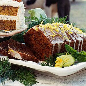 Nutty Carrot Bread