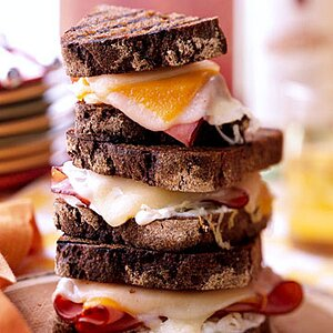 Cheese and Ham Sandwiches