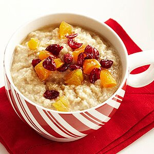 Fruit and Nuts Oatmeal