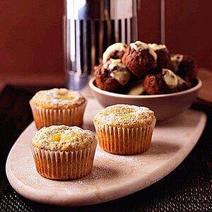 Fudge Brownie Cheesecake Muffins