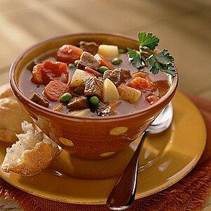 Saturday Night Beef Vegetable Soup
