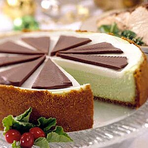 Mint-Chocolate Cheesecake