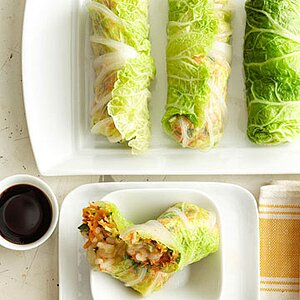 Napa Cabbage Spring Rolls