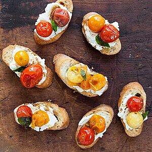 Marinated Garlicky Tomatoes
