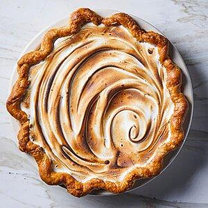Toasted Marshmallow Sweet Potato Pie