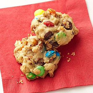 Chocolate-Nut Cookies