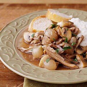 Slow Cooker Coq au Vin