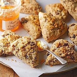 Peanut Butter Breakfast Scones