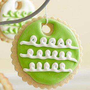 Lemon-Vanilla Ornament Cookies