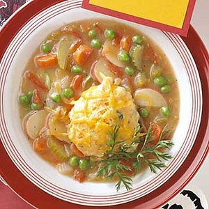 Vegetable Stew with Dumplings
