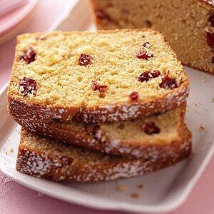 Cranberry-Sour Cream Pound Cake