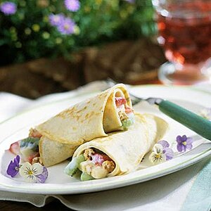 Fruit-and-Herb Crepes