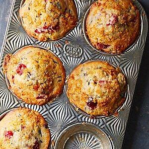 Cranberry-Orange Wild Rice Muffins