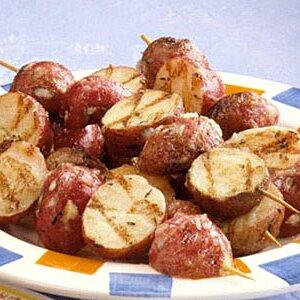 Skewered New Potatoes